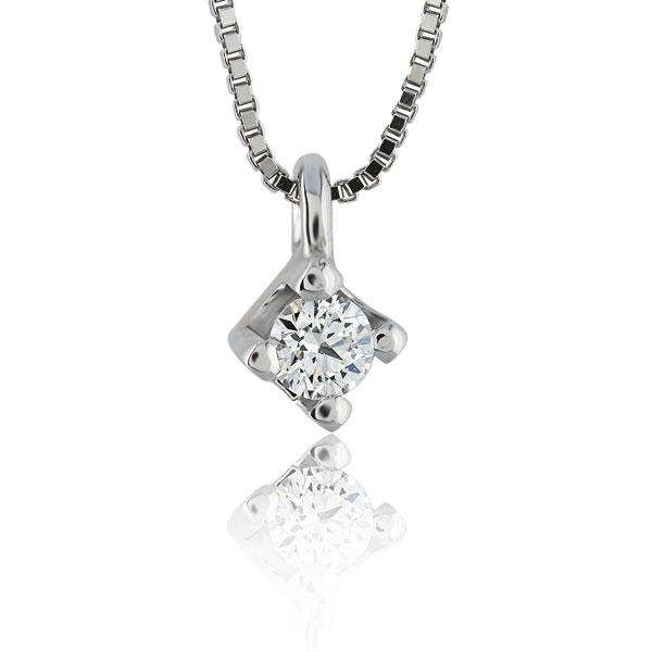 PBE047 - Girocollo in oro 18kt con diamanti con diverse carature