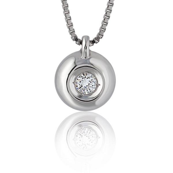 PBE1505 - Girocollo in oro 18kt con diamanti con diverse carature