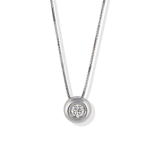 TAGPB015 - Girocollo in Argento 925 ‰ con diamanti in diverse carature