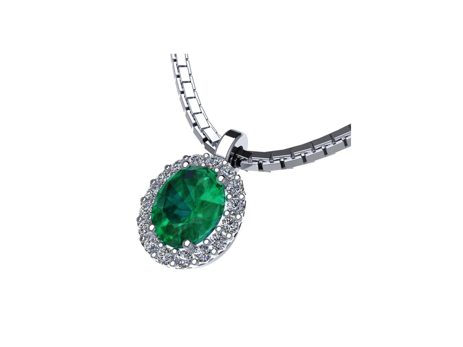 PC185BIA.SM – Girocollo in oro 18kt con Rubino Naturale e Diamanti Naturali