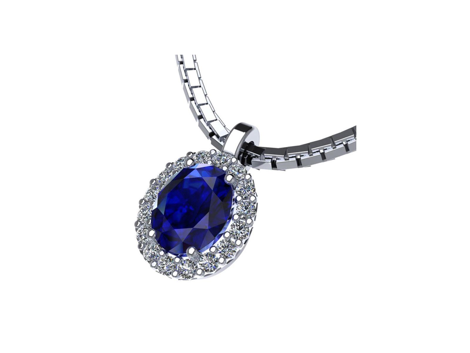 PC185BIA.ZF – Girocollo in oro 18kt con Rubino Naturale e Diamanti Naturali