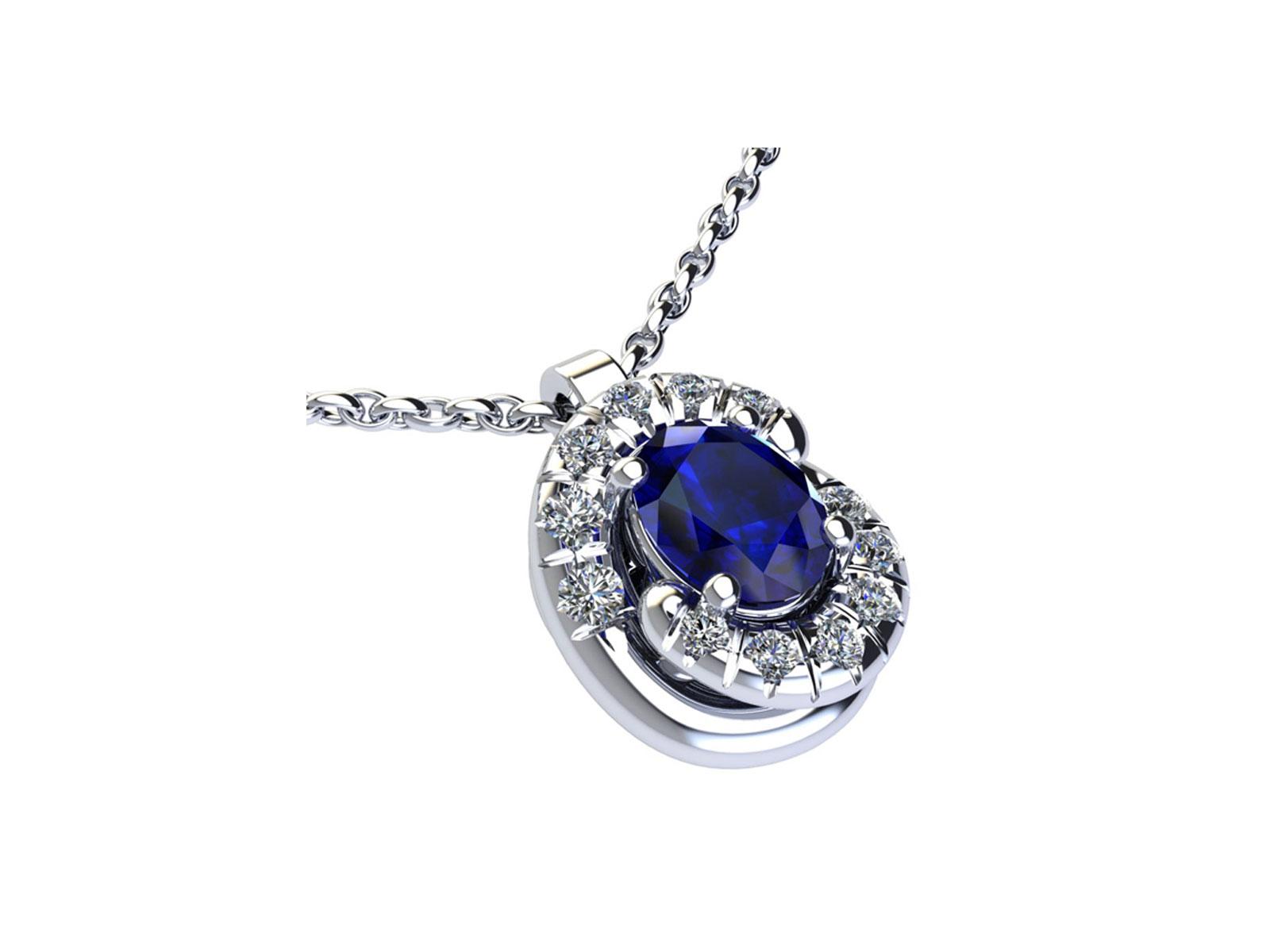 PC186BIA.ZF – Girocollo in oro 18kt con Rubino Naturale e Diamanti Naturali